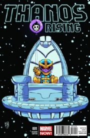 Thanos Rising #1 Skottie Young Baby Retailer Variant Marvel comic book
